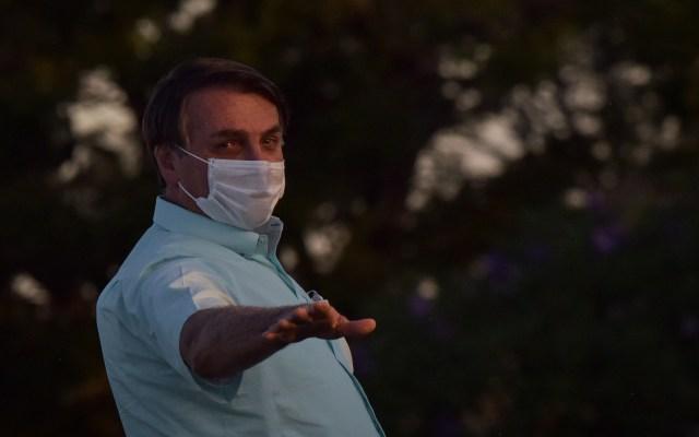 Bolsonaro amedrenta a periodista que le preguntó por escándalo familiar - Jair Bolsonaro, presidente de Brasil. Foto de EFE