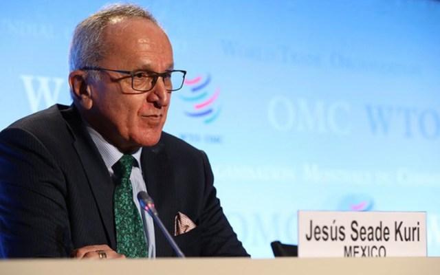 Jesús Seade presenta propuesta para la OMC en Ginebra, Berlín y París - Foto de @adetolaov
