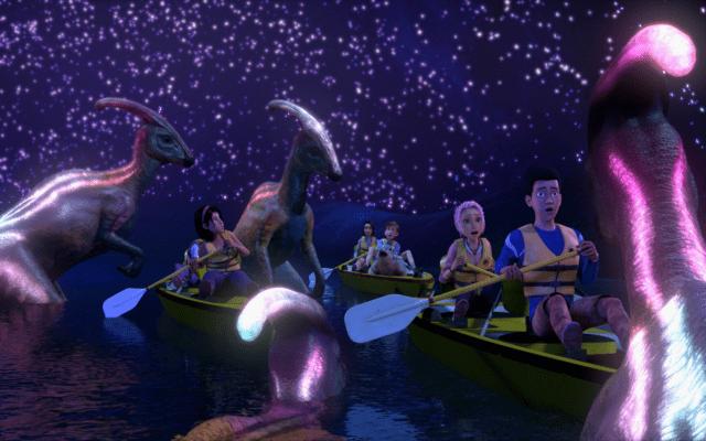 Dinosaurios de Jurassic World retan a adolescentes en nueva serie de Netflix - Jurassic World: Campamento Cretácico. Foto de Netlflix
