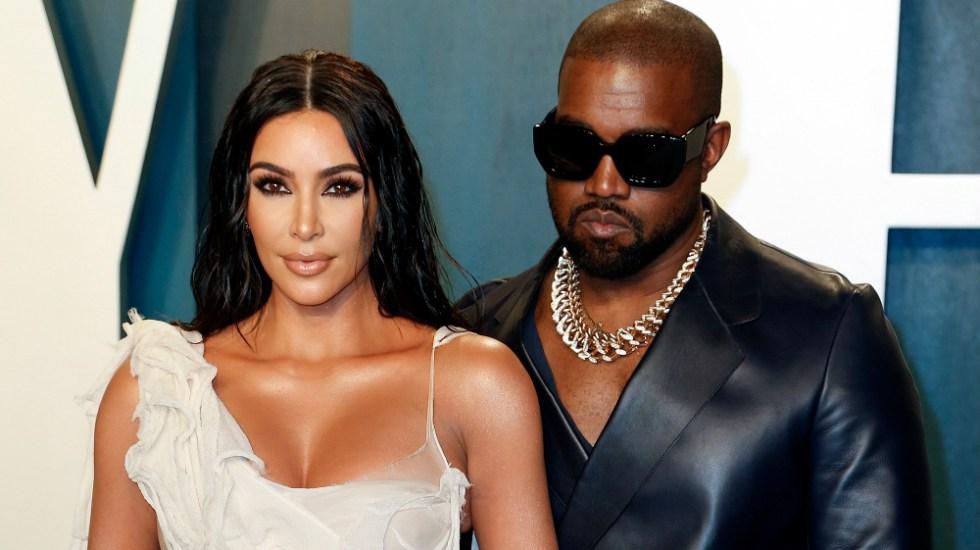 Kanye West asegura que está intentando divorciarse de Kim Kardashian - Foto de EFE