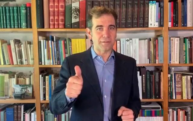 Lorenzo Córdova felicita a nuevos consejeros del INE - Consejero presidente del INE, Lorenzo Córdova. Captura de pantalla