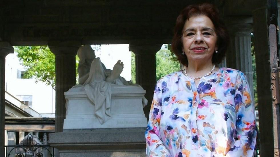 María Guadalupe Lozada, encargada de despacho de la Secretaría de Cultura CDMX - Foto de Quadratín