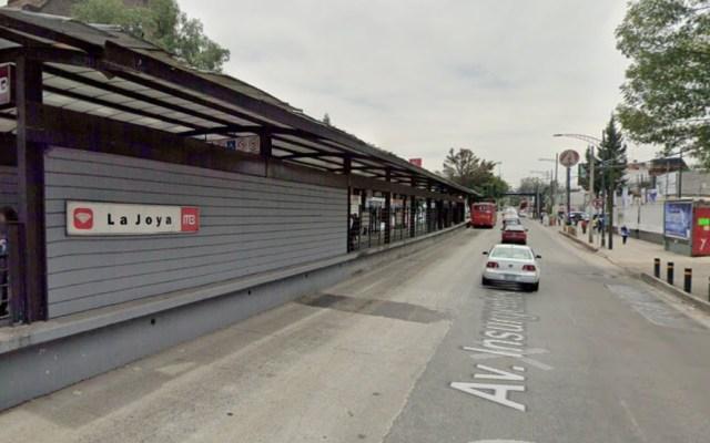 Retirarán puente cerca de estación La Joya del MB este fin de semana - Metrobús La Joya estación