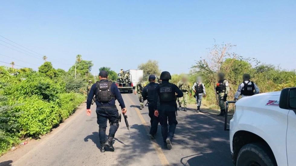 Bloqueos y quema de vehículos tras operativo en Michoacán - Michoacán Bloqueos SSP criminales Apatzingán Michoacán