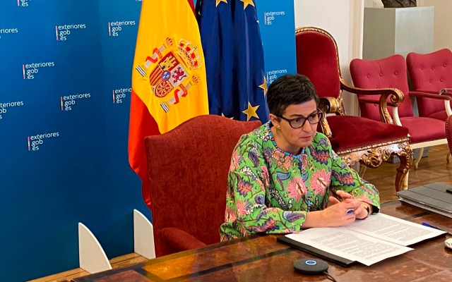 Ministra española de Exteriores descarta candidatura para dirigir la OMC - ministra española Asuntos Exteriores, Arancha González Laya