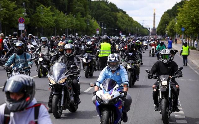 Motociclistas en Alemania protestan contra proyecto de ley para reducir contaminación acústica - Motociclistas en Alemania protestan contra proyecto de ley para reducir contaminación acústica
