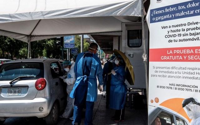 Hospitales en Nuevo León a punto del colapso por COVID-19 - Foto de EFE
