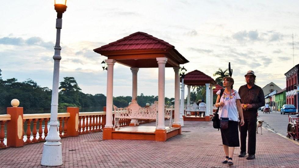 Gobernadores del PAN urgen a declarar el turismo como actividad esencial - Palizada, pueblo mágico de Campeche. Foto de @SECTUR_mx