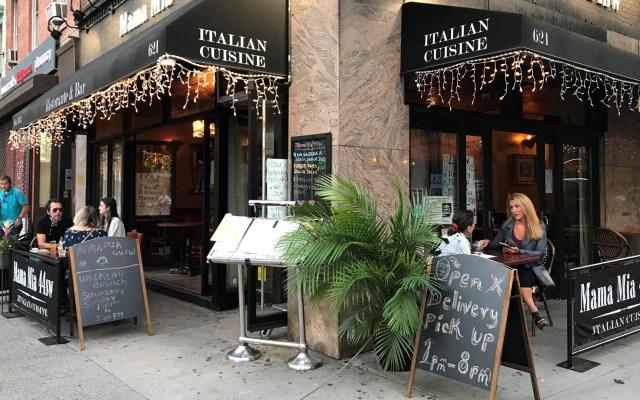 Nueva York entrará el lunes a la fase 3 de reapertura económica - Reapertura de restaurantes en Nueva York tras cierre por cuarentena. Foto de EFE
