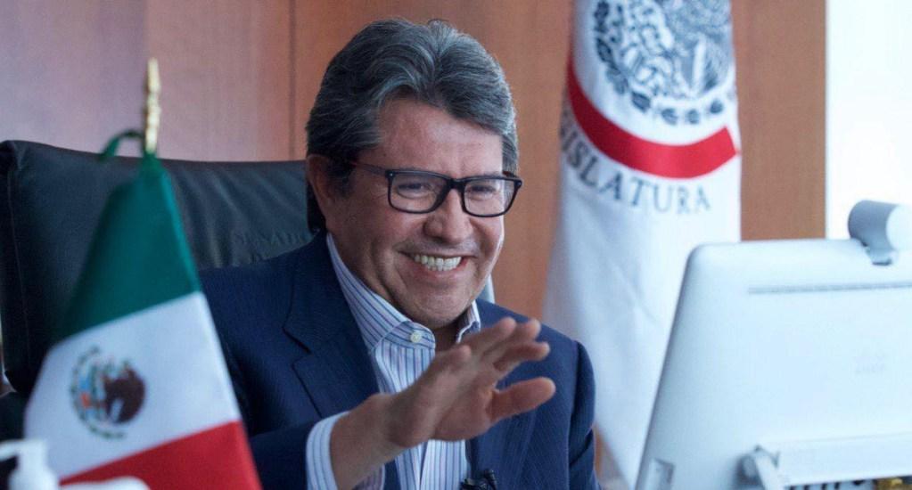 FGR debe solicitar orden de aprehensión contra García Cabeza de Vaca: Ricardo Monreal - Ricardo Monreal senador Morena