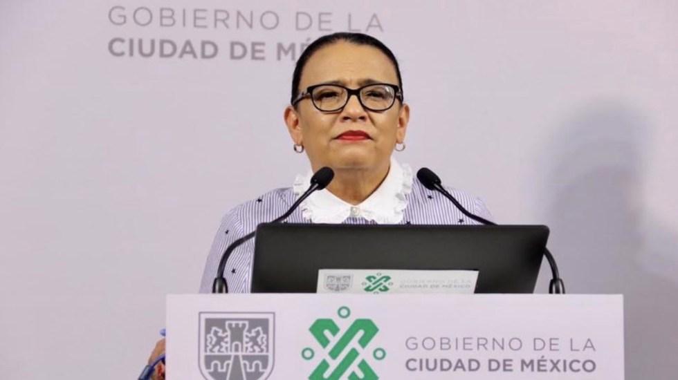Propone AMLO a Rosa Icela Rodríguez como secretaria de Seguridad y Protección Ciudadana - Foto de Segob CDMX