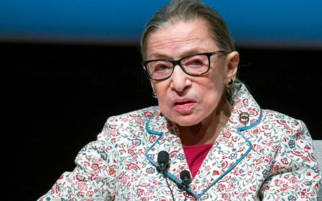 Jueza progresista de EE.UU. Ruth Bader Ginsburg tiene cáncer de hígado - Ruth Bader Ginsburg, jueza del Tribunal Supremo de EE.UU. . Foto de EFE