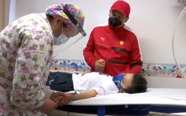 Santi, el niño de 9 años que venció al COVID-19 tras estar intubado 11 días - Santi niño 9 años coronavirus COVID-19