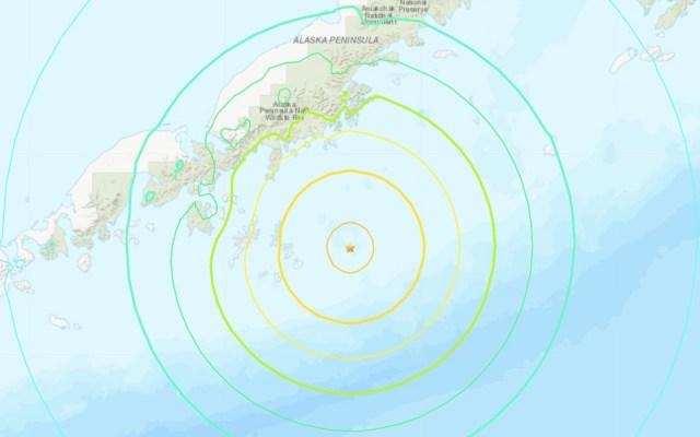 Sismo magnitud 7.8 sacude Alaska; autoridades desactivan alerta de tsunami - Foto de USGS