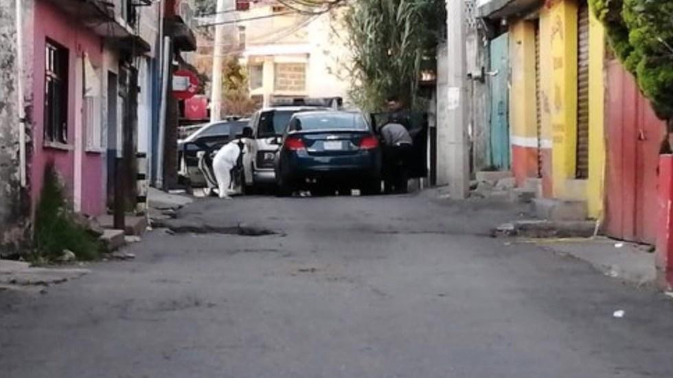 Localizan cuatro cuerpos al interior de un vehículo en Tlalpan - Foto de Jorge Becerril