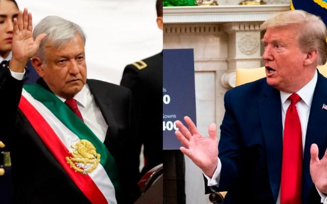Trump y AMLO reconocerán esfuerzos por fortalecer lazos en América del Norte, expone Casa Blanca - Composición de EFE