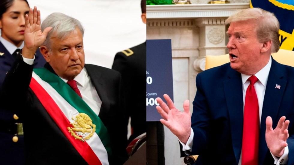 Trump y AMLO sí emitirán mensaje conjunto; revelan lista de empresarios que acudirán a la Casa Blanca - Composición de EFE