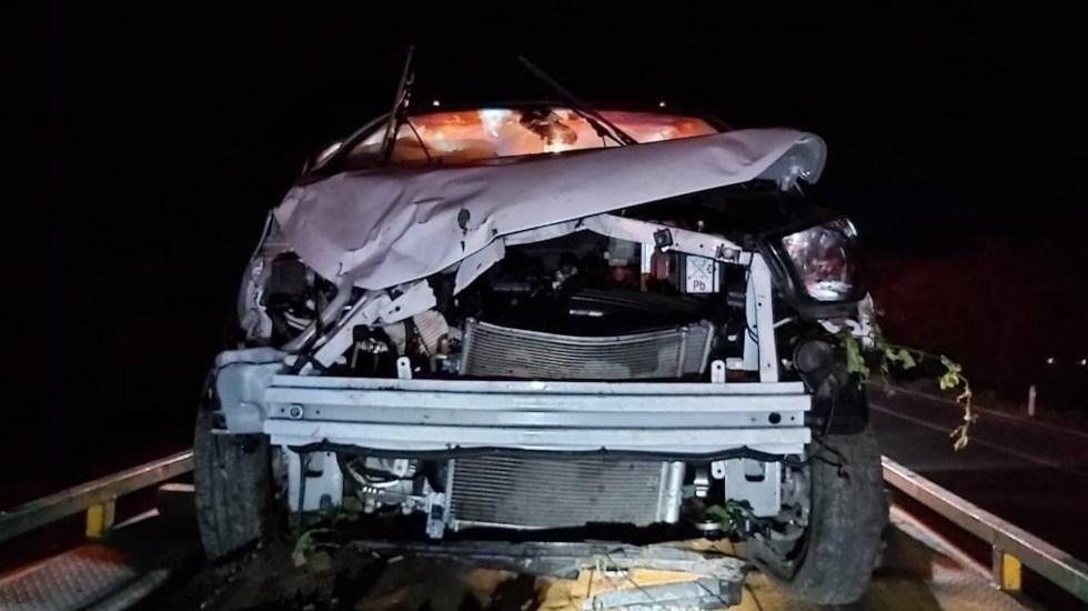 Un muerto en choque contra vehículo en el que viajaba Zoé Robledo en Chiapas - Foto de IMSS
