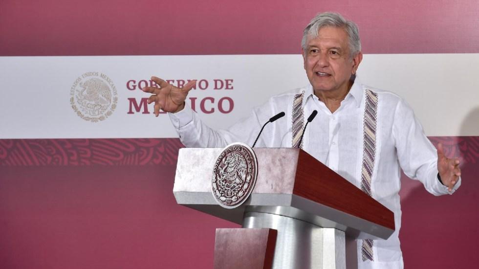 Pide AMLO presentar a la FGR video donde Pío, su hermano, recibe dinero de David León Romero - Foto de lopezobrador.org.mx
