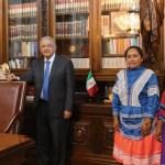 AMLO se reúne con mujeres aspirantes a ocupar presidencia de Conapred
