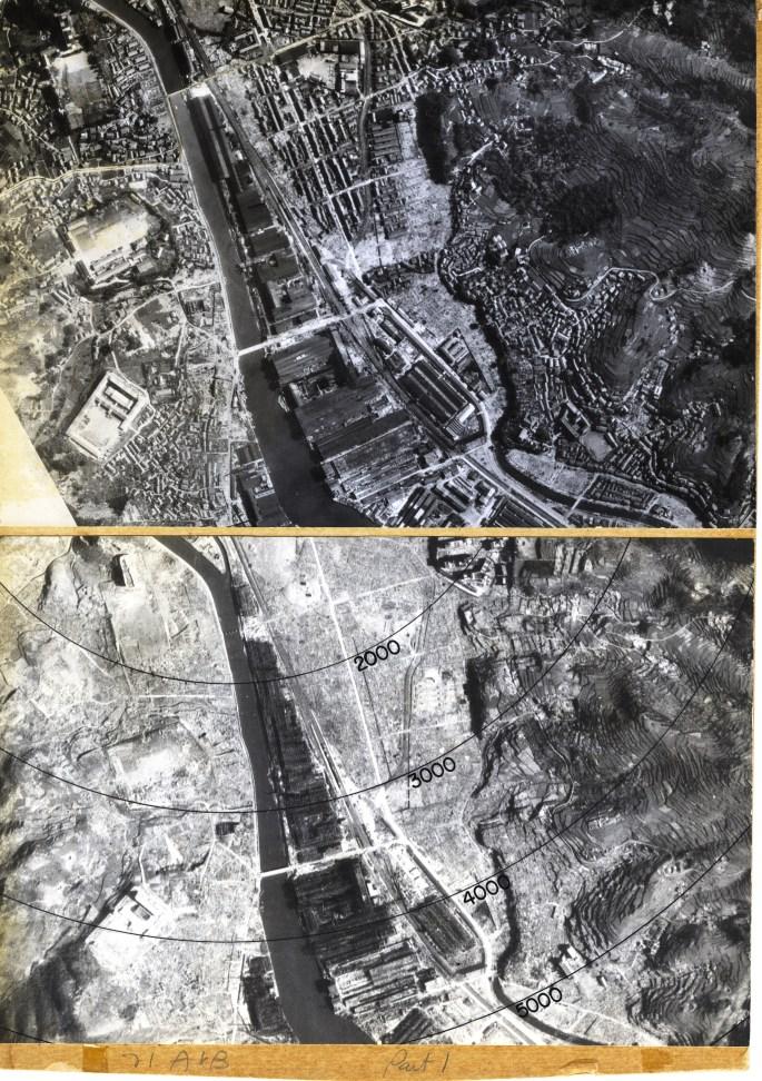 Antes y después de la bomba Hiroshima