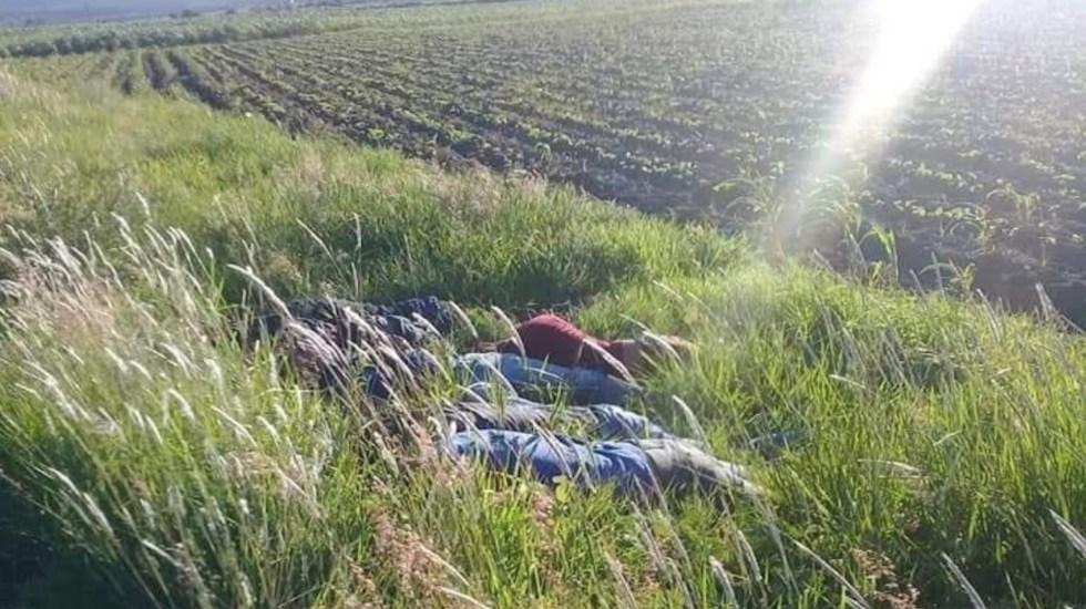 Asesinan a siete hombres en Jerécuaro, Guanajuato - Foto de @NotaRoja_SJR