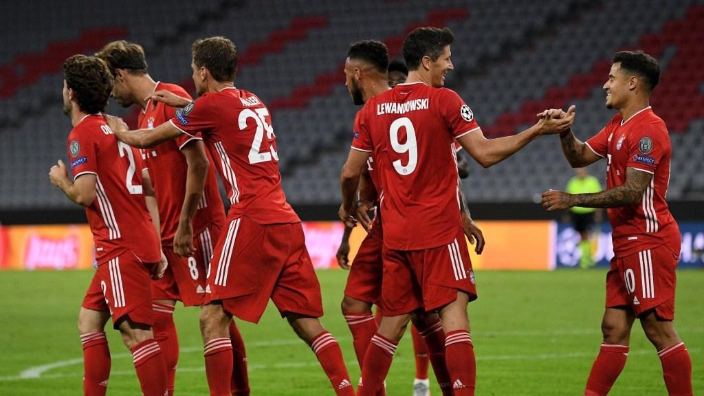 Bayern no deja dudas y se pone en Cuartos con doblete de Lewandowski - Foto de EFE/EPA/PHILIPP GUELLAND.