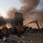 #Videos Fuerte explosión en almacén del puerto de Beirut, Líbano