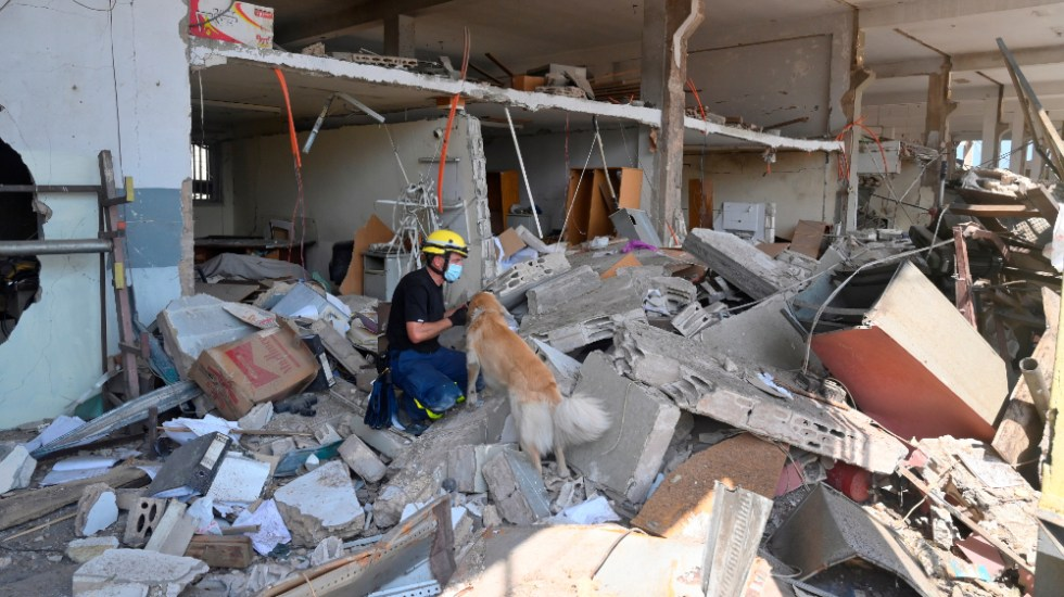 Suben a 154 muertos y 120 heridos graves por la explosión en Beirut - Foto de EFE