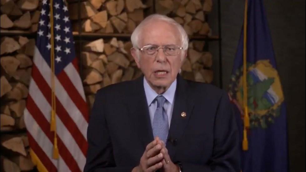 Bernie Sanders: Si Trump gana, todo nuestro progreso está en riesgo - Bernie Sanders. Captura de Pantalla.