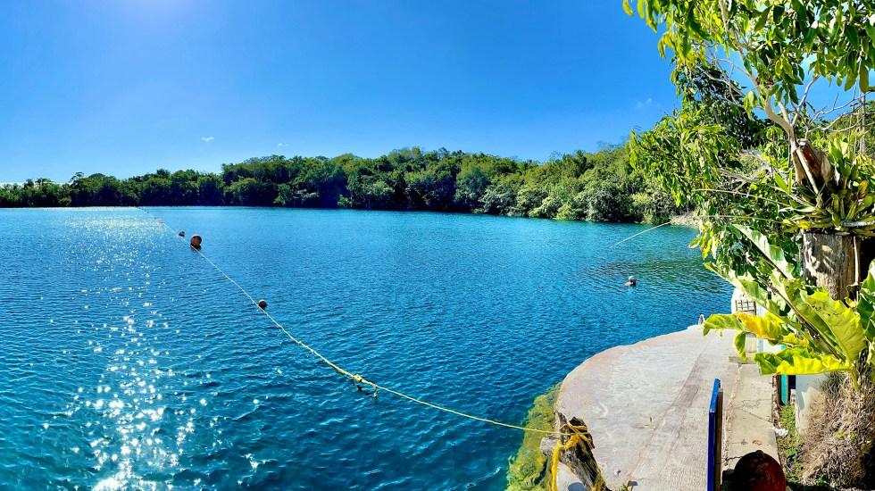 Encuentran cinco raros cenotes de agua dulce en el fondo del Caribe mexicano - Foto Ilustrativa de Cenote. Foto de Leafar Perez para Unsplash.