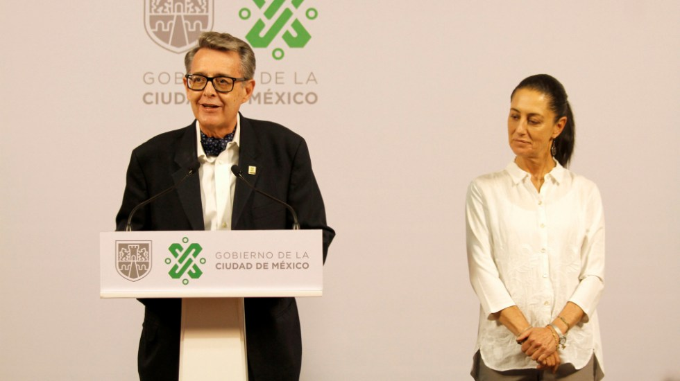 Secretario de Gobierno de CDMX da positivo a COVID-19; Claudia Sheinbaum en confinamiento - Foto de Secretaría de Cultura de la Ciudad de México