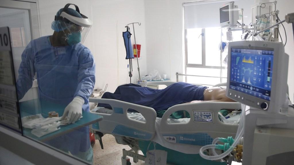 A la OMS le empiezan a preocupar efectos a largo plazo del COVID-19 en pacientes - Foto de EFE/ Ernesto Guzman Jr./Archivo.