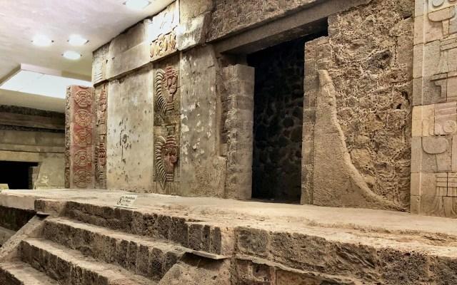 Detectan uso de cinabrio en murales tempranos de Teotihuacan - Complejo de Quetzalpapálotl en Teotihuacan. Foto de EFE