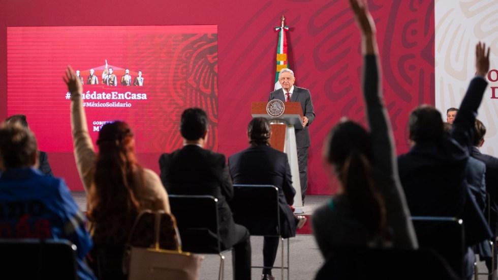 Rompe AMLO con récord de duración de su conferencia mañanera - Foto de lopezobrador.org.mx
