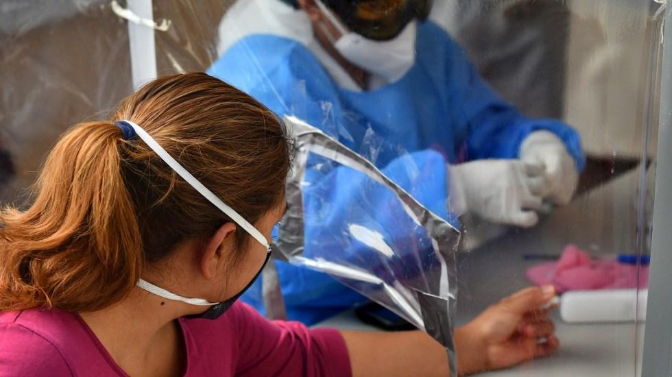 #EnVivo México registró en las últimas 24 horas 5 mil 618 nuevos casos y 615 muertes por COVID-19 - COVID-19 coronavirus Ciudad de México Central de Abasto prueba