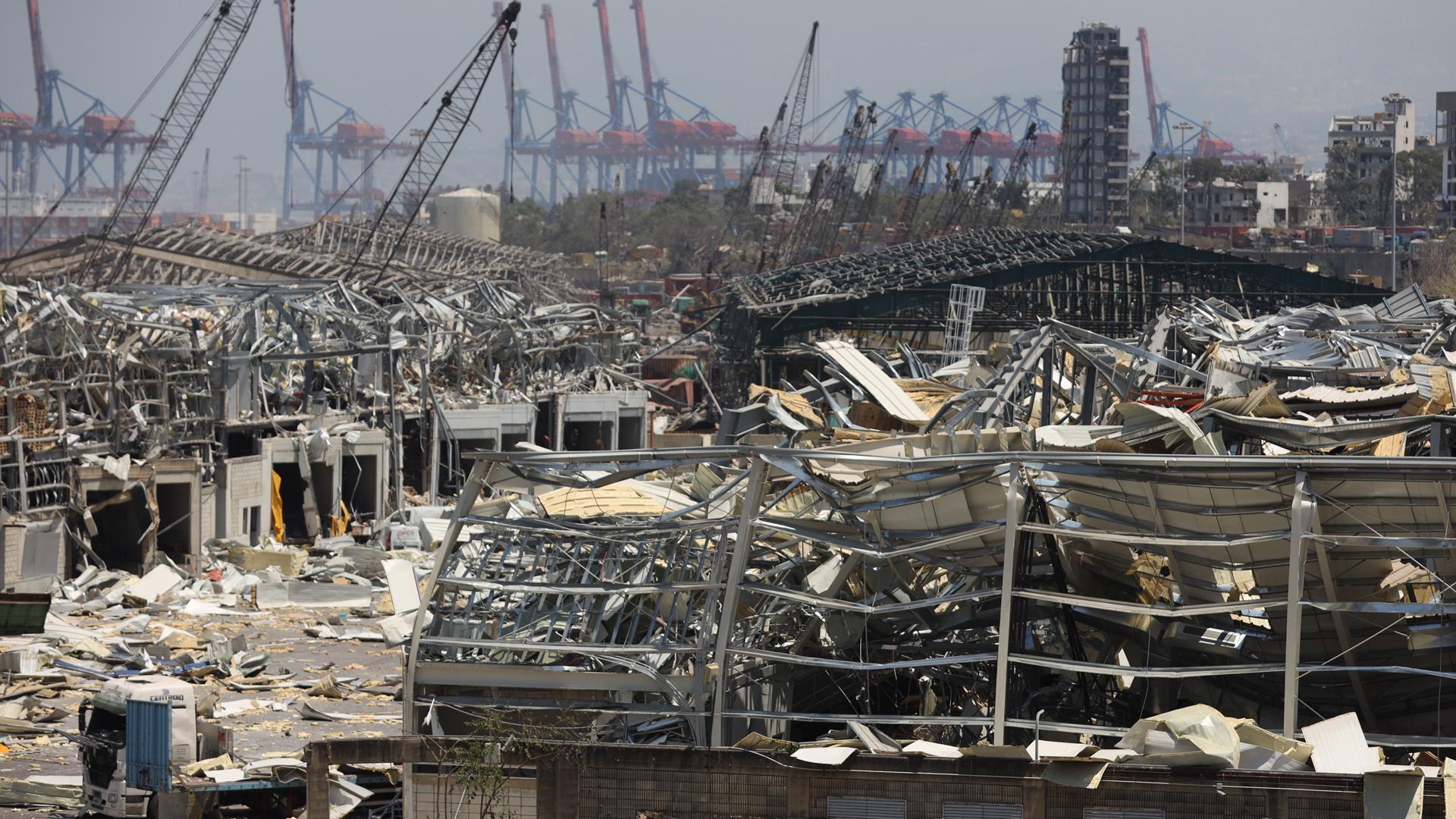 ¡Apoyo! Gobierno de México aportará 100 mil dólares a Beirut tras explosión