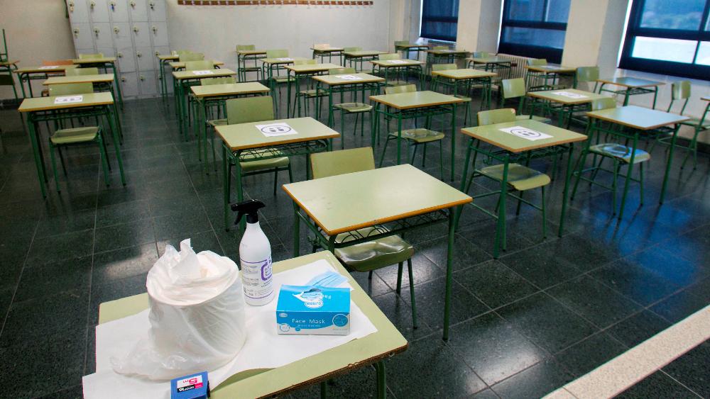 OMS resalta que escuelas no son el motor principal de transmisión por COVID-19 - Foto de EFE