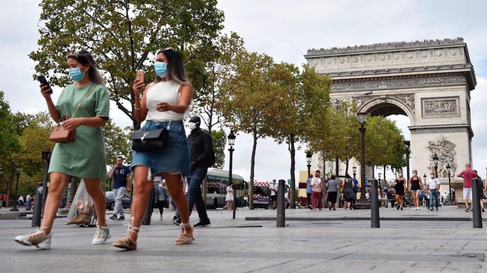 Francia registra 10 mil 561 positivos por COVID-19 en 24 horas - Foto de EFE
