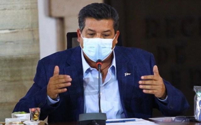 Organizaciones criminales tienen aliados políticos: gobernador de Tamaulipas - Foto de Twitter Francisco García Cabeza de Vaca