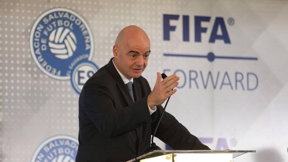 """""""No ha ocurrido nada delictivo""""; FIFA se defiende de investigación contra Infantino - Gianni Infantino, presidente de la FIFA. Foto de EFE"""