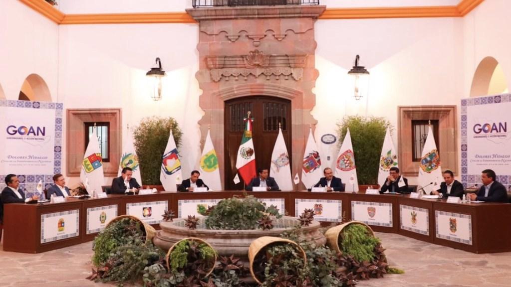 Proponen gobernadores panistas decálogo para recuperar la economía - Foto de GOAN