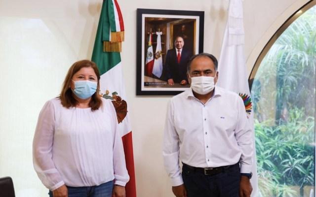 Héctor Astudillo reconoce labor del sector salud ante el COVID-19 - Foto de Twitter Héctor Astudillo