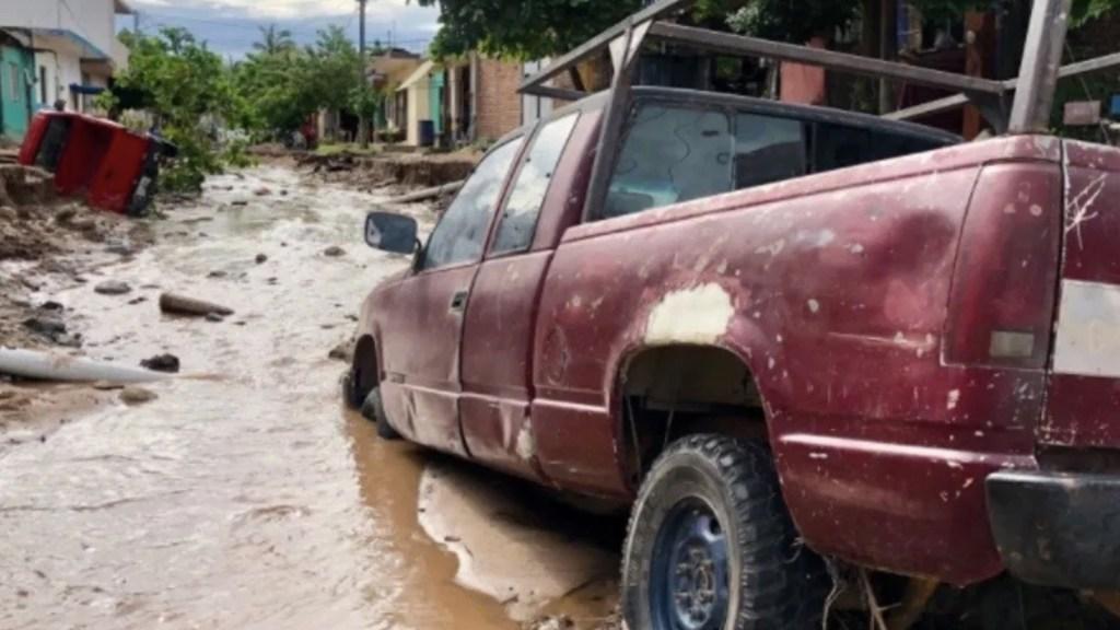 Hernán provoca afectaciones a 2 mil viviendas en Jalisco - Foto de Noticieros Televisa