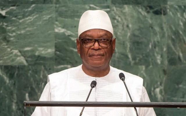 Dimite presidente de Mali tras golpe de estado - Ibrahim Boubacar Keita. Foto de @DrTedros