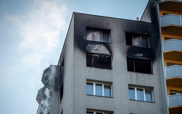Once muertos en el peor incendio en República Checa en décadas - Foto de EFE