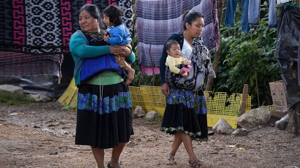 Discriminación y exclusión prevalecientes marcan el Día Internacional de los Pueblos Indígenas - Indígenas comunidades mujeres Tzotziles Chiapas