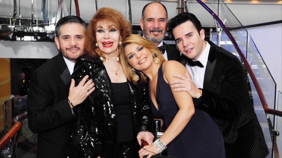 Murió Itatí Zucchi, madre de Itatí cantoral y viuda de Roberto Cantoral - La familia Cantoral Zucchi. Foto de Televisa Espectáculos.
