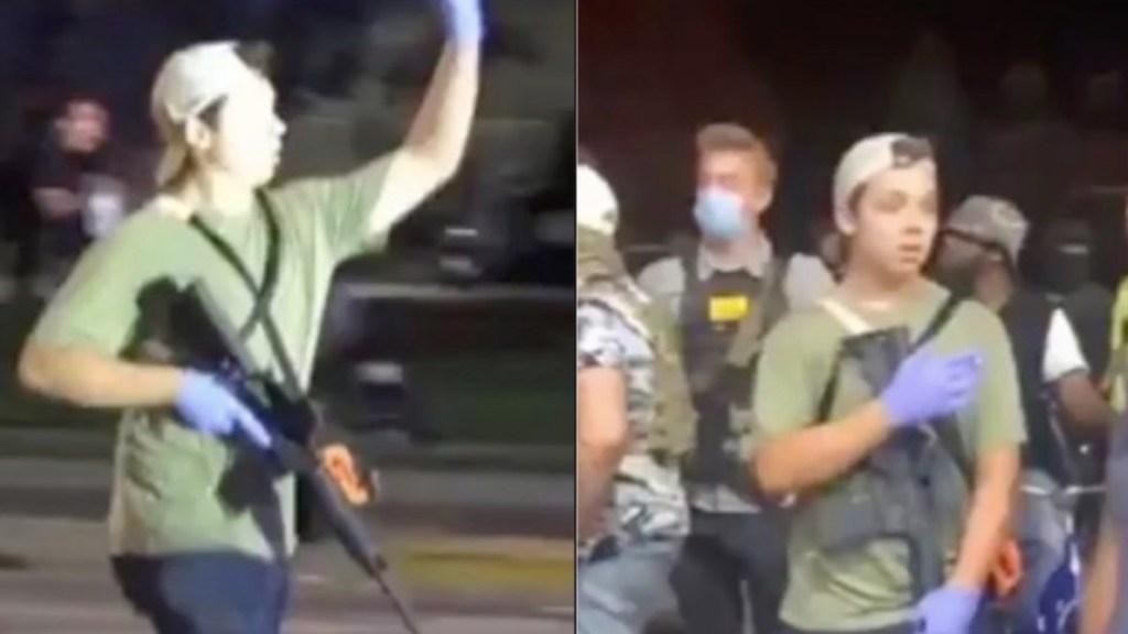 Detienen a joven de 17 años señalado por disparar contra manifestantes en Wisconsin - Foto de @BSO