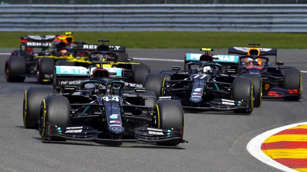 Lewis Hamilton conquista el GP de Bélgica y se acerca su séptimo campeonato - Lewis Hamilton F1 GP bélgica